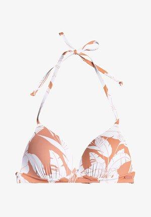 PRINTED BEACH CLASSICS - Bikini top - pink