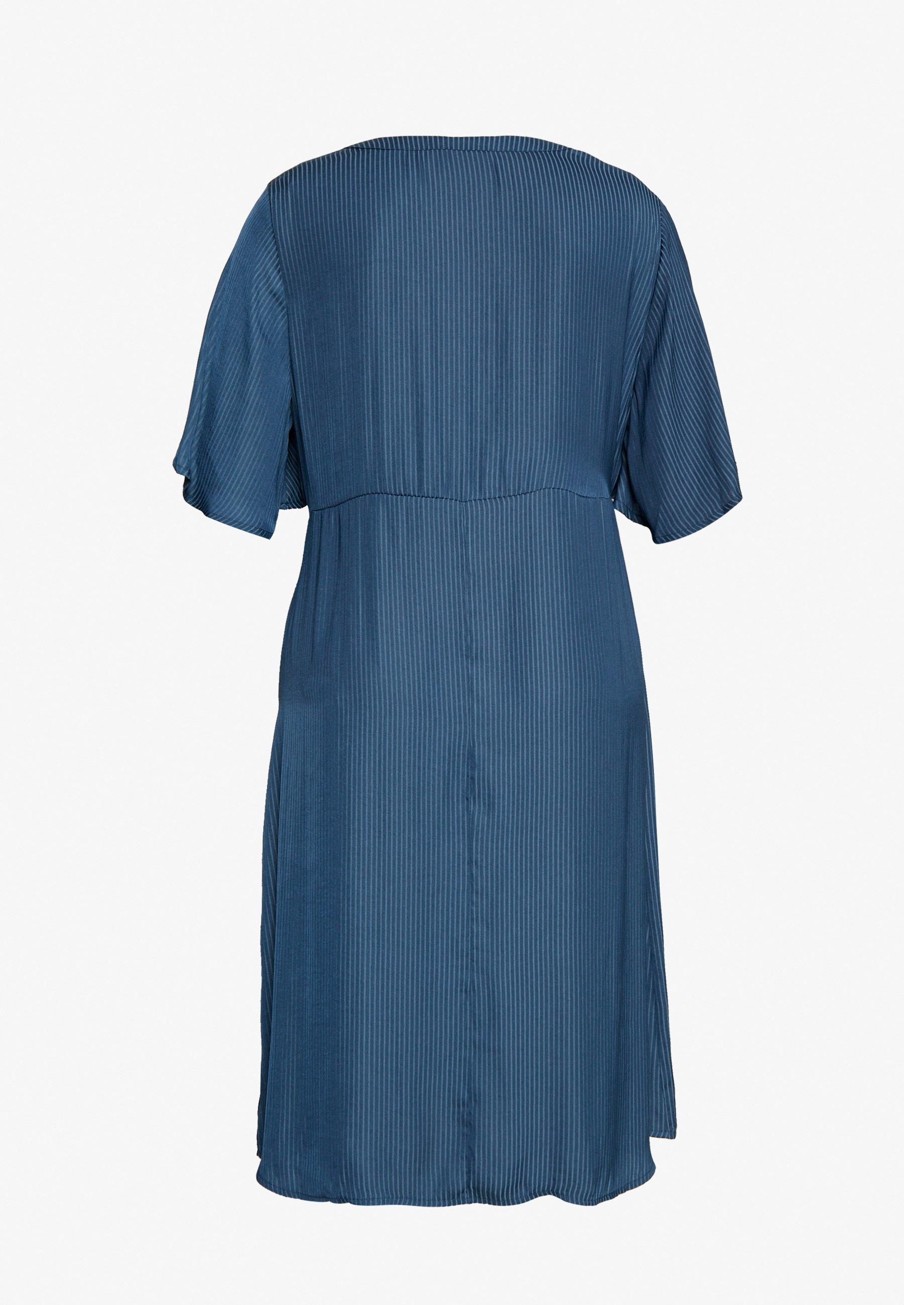 Zizzi MCLARA DRESS - Vestido informal - dark denim 4wG6J
