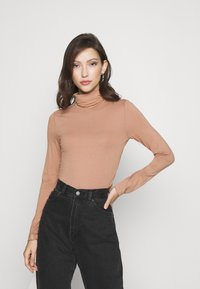 Even&Odd - Long sleeved top - camel - 0
