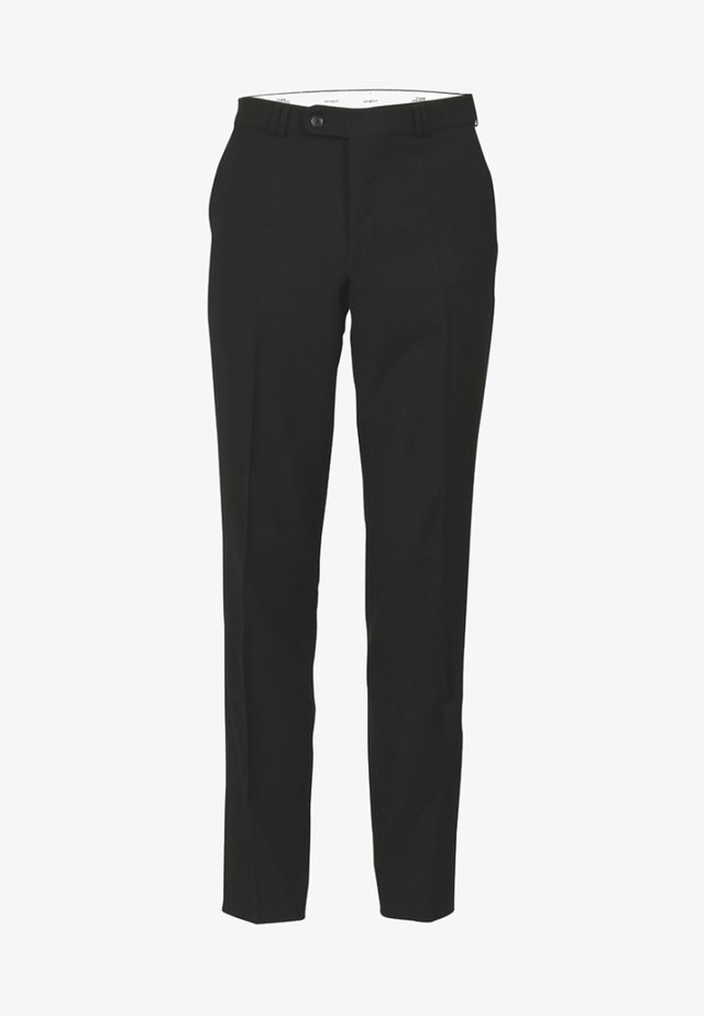 SANTOS - Trousers - black