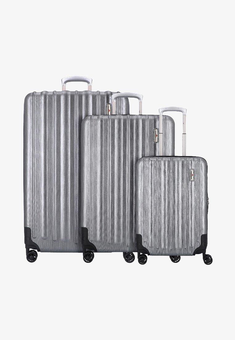 Hardware - Luggage set - metallic grey