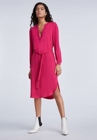SET - MIT GÜRTEL - Day dress - pink - 1