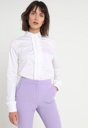 TILDA FLOUNCE - Button-down blouse - white
