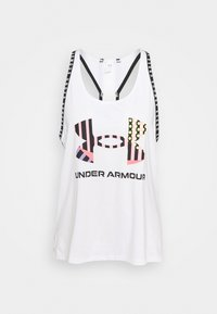 Under Armour - GEO KNOCKOUT TANK - Top - white - 5
