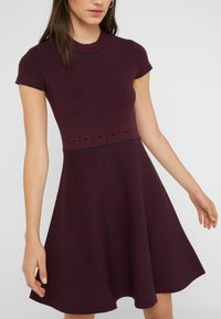 Versace Collection - Jumper dress - dark blue/scarlatto - 4