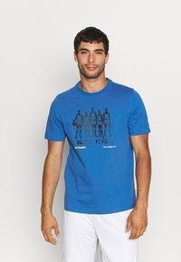 Puma - TEE - T-shirt con stampa - star sapphire - 0