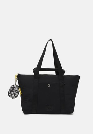 SHOPPER CANCUN M SET - Tote bag - black