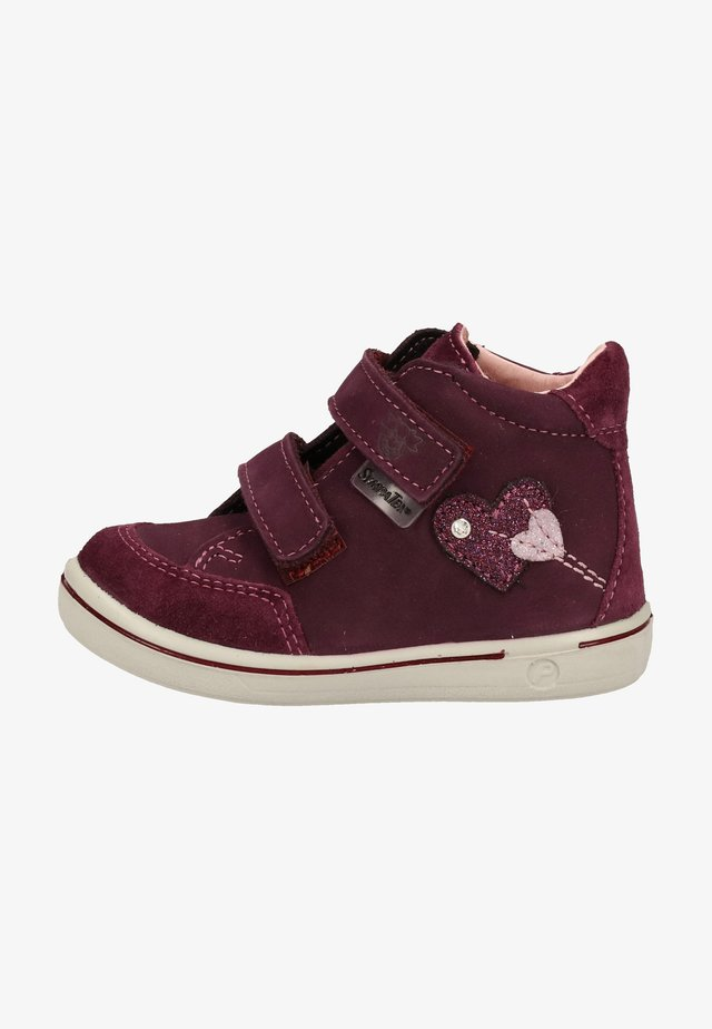 Baby shoes - merlot 382
