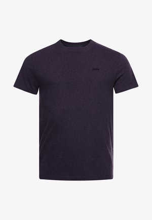 MICRO  - Basic T-shirt - rich purple marl