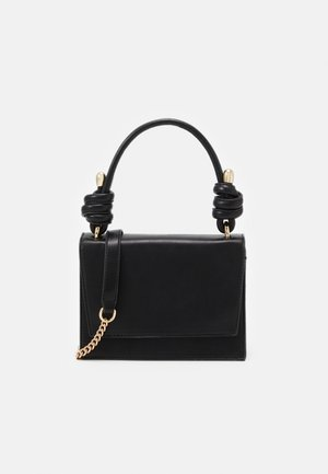 PCDAISIA CROSS BODY - Kabelka - black/gold