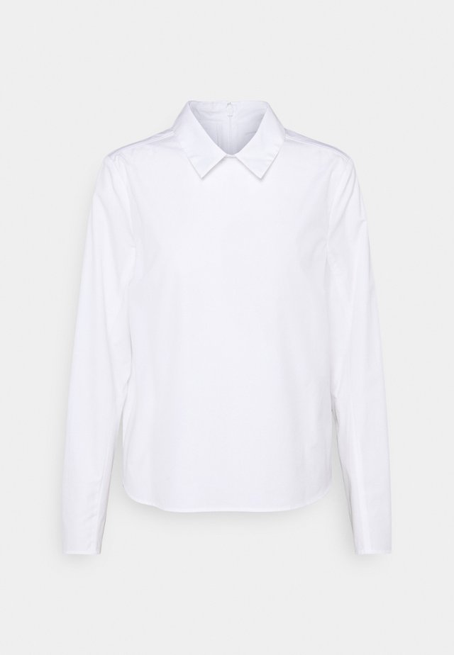 BOXY BLOUSE PLEATS ON BACK - Overhemdblouse - white