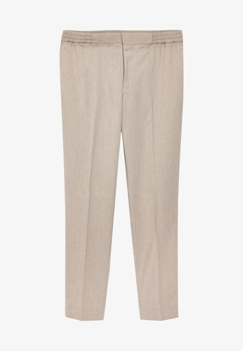 Trousers - taupe