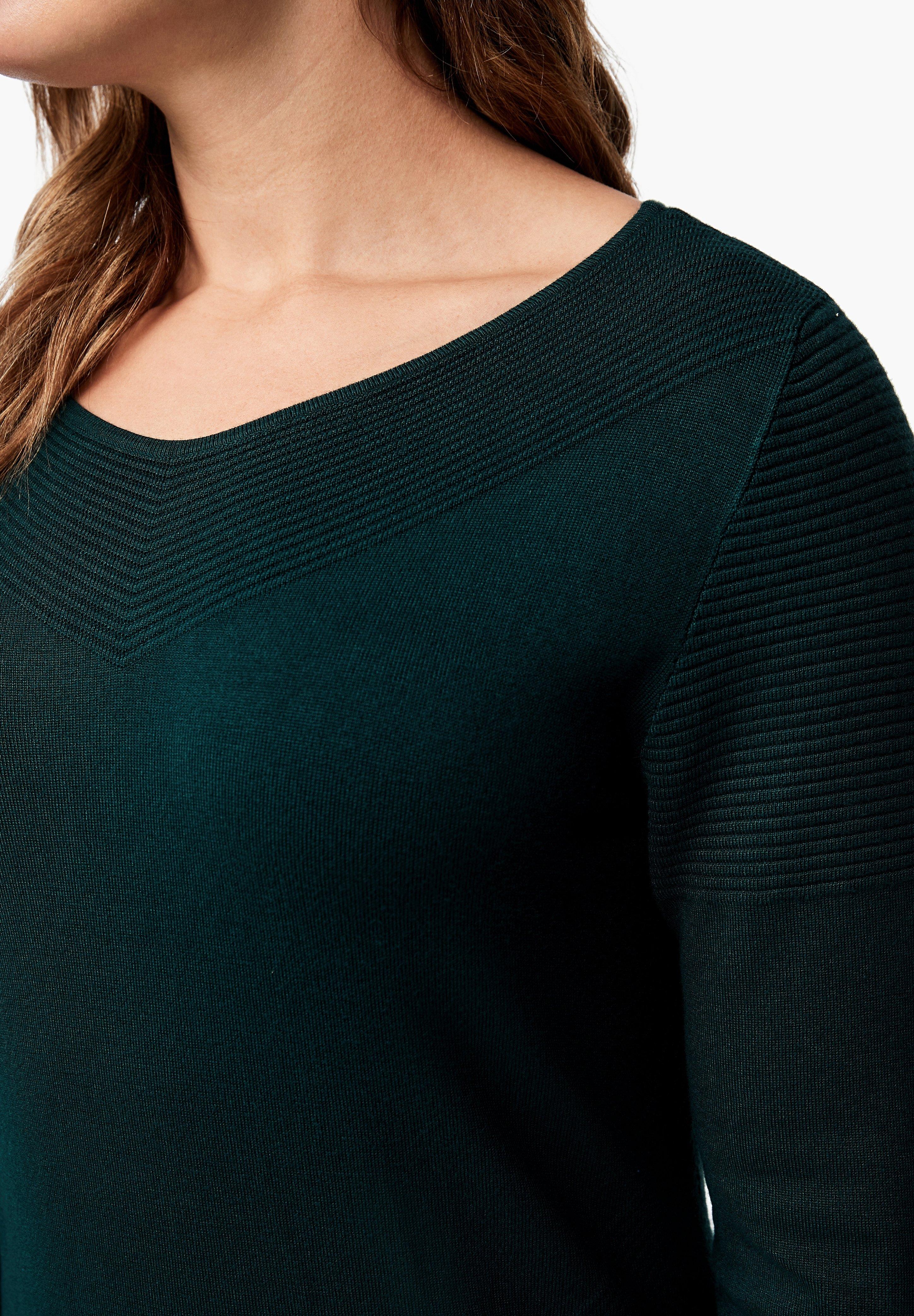 Triangle Etuikleid emerald/dunkelgrün
