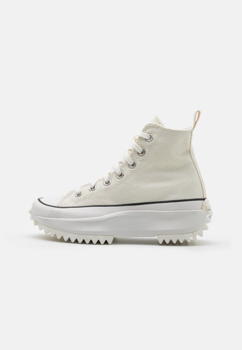 Converse - RUN STAR HIKE UNISEX - High-top trainers - egret/white