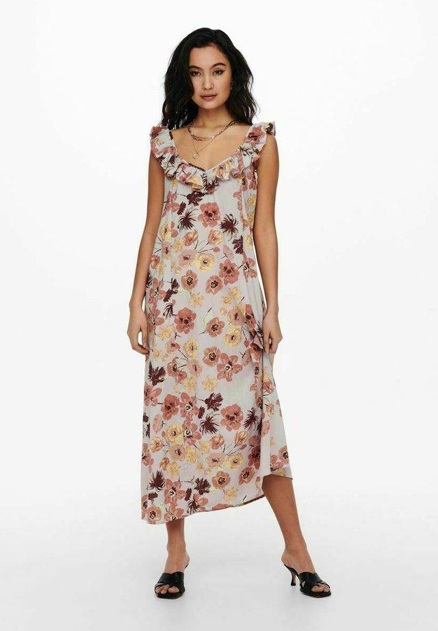 Korte jurk - gray lilac