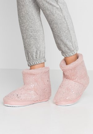 FLECK BOOTIE - Slippers - pink