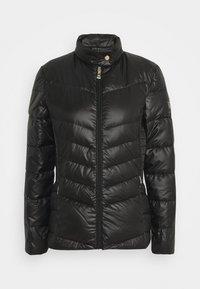 Lauren Ralph Lauren - PEARL SHEEN RACER MOTO SOFT - Down jacket - black - 4