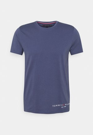 LOGO TEE - T-shirt med print - faded indigo