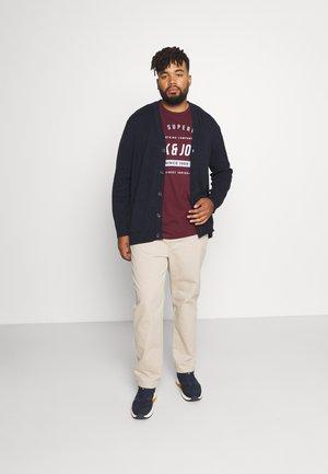 JJHERRO TEE CREW NECK 3 PACK - Print T-shirt - navy blazer
