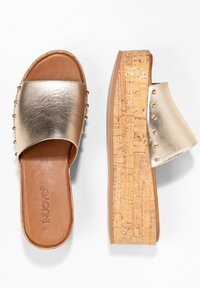 Inuovo - Mules - gold gld - 2
