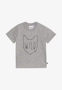 Tobias & The Bear - BABY WILD TEE - Print T-shirt - grey marl - 2