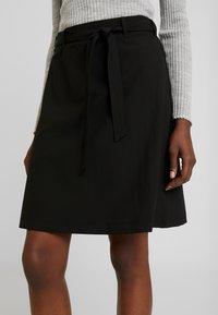 Kaffe - KAJILJA SKIRT - A-line skirt - black deep - 4