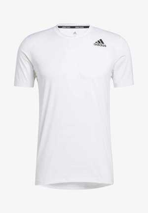 TECHFIT COMPRESSION T-SHIRT - Basic T-shirt - white