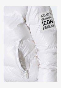 Armani Exchange - BLOUSON JACKET  - Winter jacket - white - 5