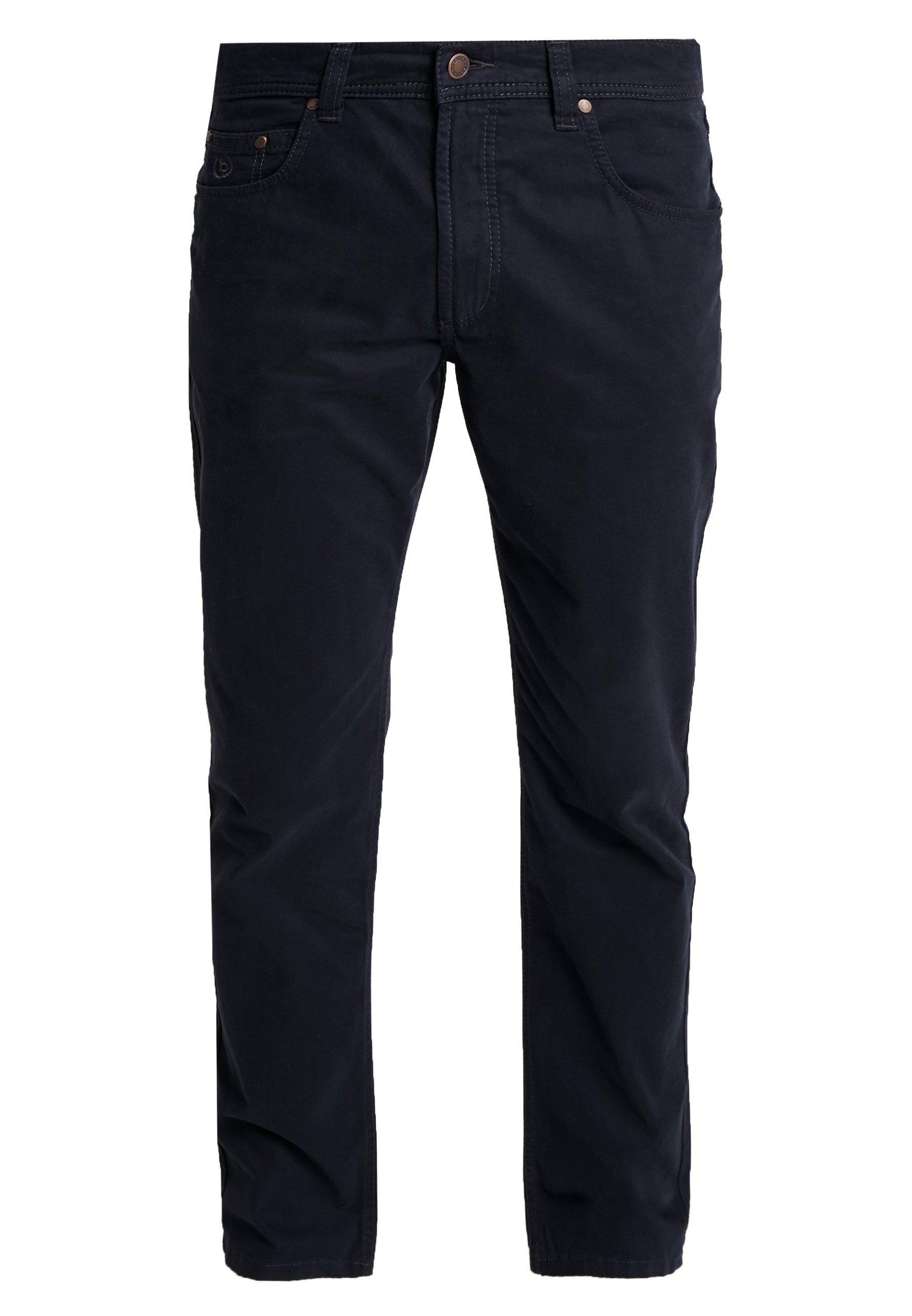 Bugatti FIVE-POCKET - Pantalon classique - marine