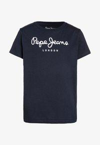 Pepe Jeans - ART - Print T-shirt - navy - 0