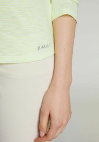 Oui - Sweatshirt - white yellow/or - 4