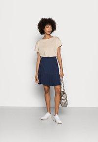 Esprit - SKIRT - A-line skirt - navy - 1