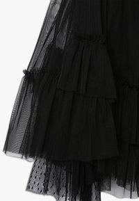 Pinko Up - BAMBINAIA GONNA PLUMETIS - A-line skirt - black - 3