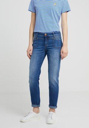 PEDAL X - Jean slim - mid blue