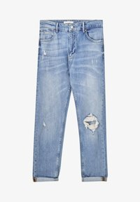 PULL&BEAR - Jeans slim fit - stone blue denim - 6