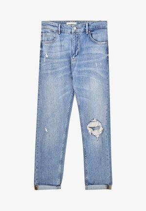 Slim fit jeans - stone blue denim