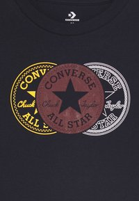 Converse - COLLEGIATE VERTICAL - Top sdlouhým rukávem - obsidian - 2