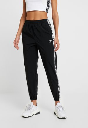 LOCK UP ADICOLOR NYLON TRACK PANTS - Pantaloni sportivi - black