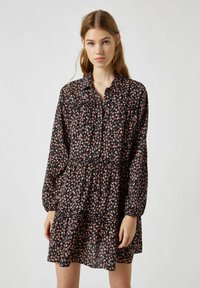 PULL&BEAR - Shirt dress - black - 0