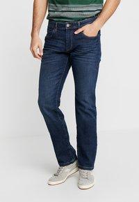 Esprit - Jeansy Straight Leg - blue dark wash - 0