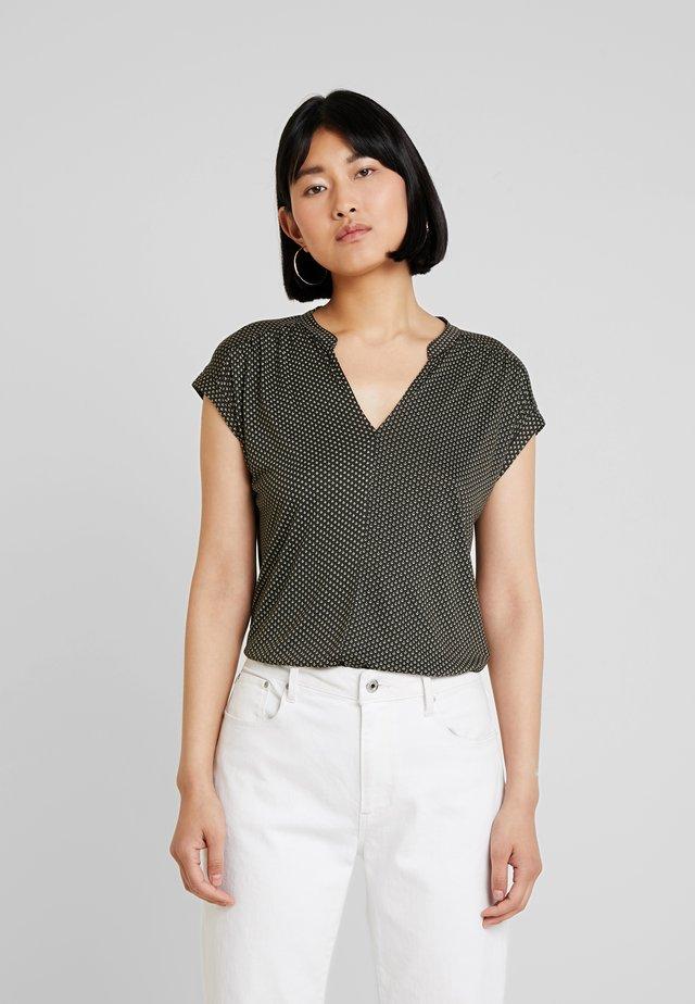 SANDI MINIFLOWER - T-shirt print - oliv green