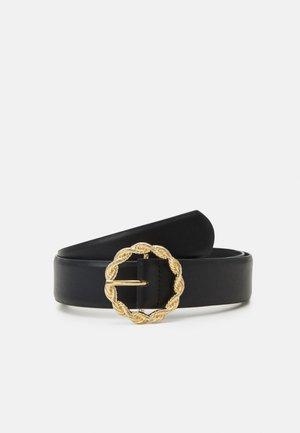 PCJUTA JEANS BELT - Belt - black/gold-coloured