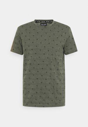 HOUSTON - Print T-shirt - army
