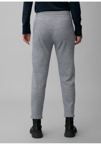 Marc O'Polo - ELASTISCHEM BAUMWOLL-MIX - Tracksuit bottoms - multi/dark night - 2