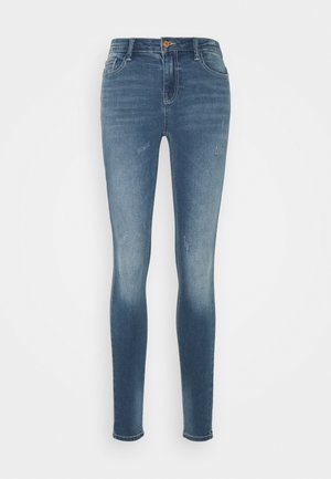 JDYNEWCAROLA LIFE - Jeans Skinny Fit - medium blue denim