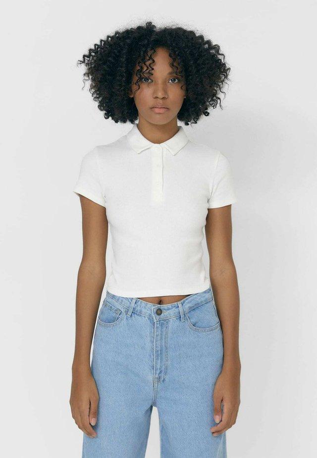 MIT PATENTMUSTER  - Poloshirt - white