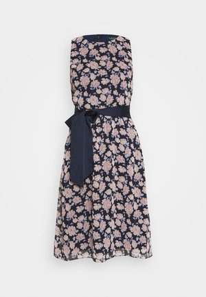 JASPER SLEEVELESS DAY DRESS - Day dress - navy/pink/multi