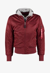 Alpha Industries - Kurtka Bomber - burgundy - 7