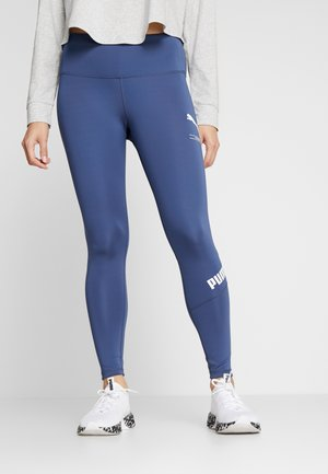NU-TILITY LEGGINGS - Punčochy - dark denim