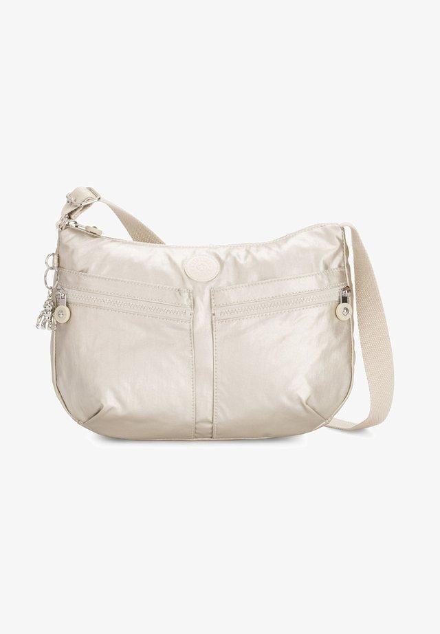 BASIC PLUS EYES - Across body bag - cloud metal